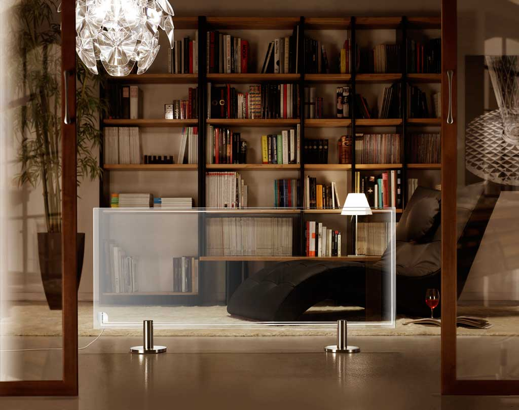heizk rper aus transparente glas thermoglance. Black Bedroom Furniture Sets. Home Design Ideas